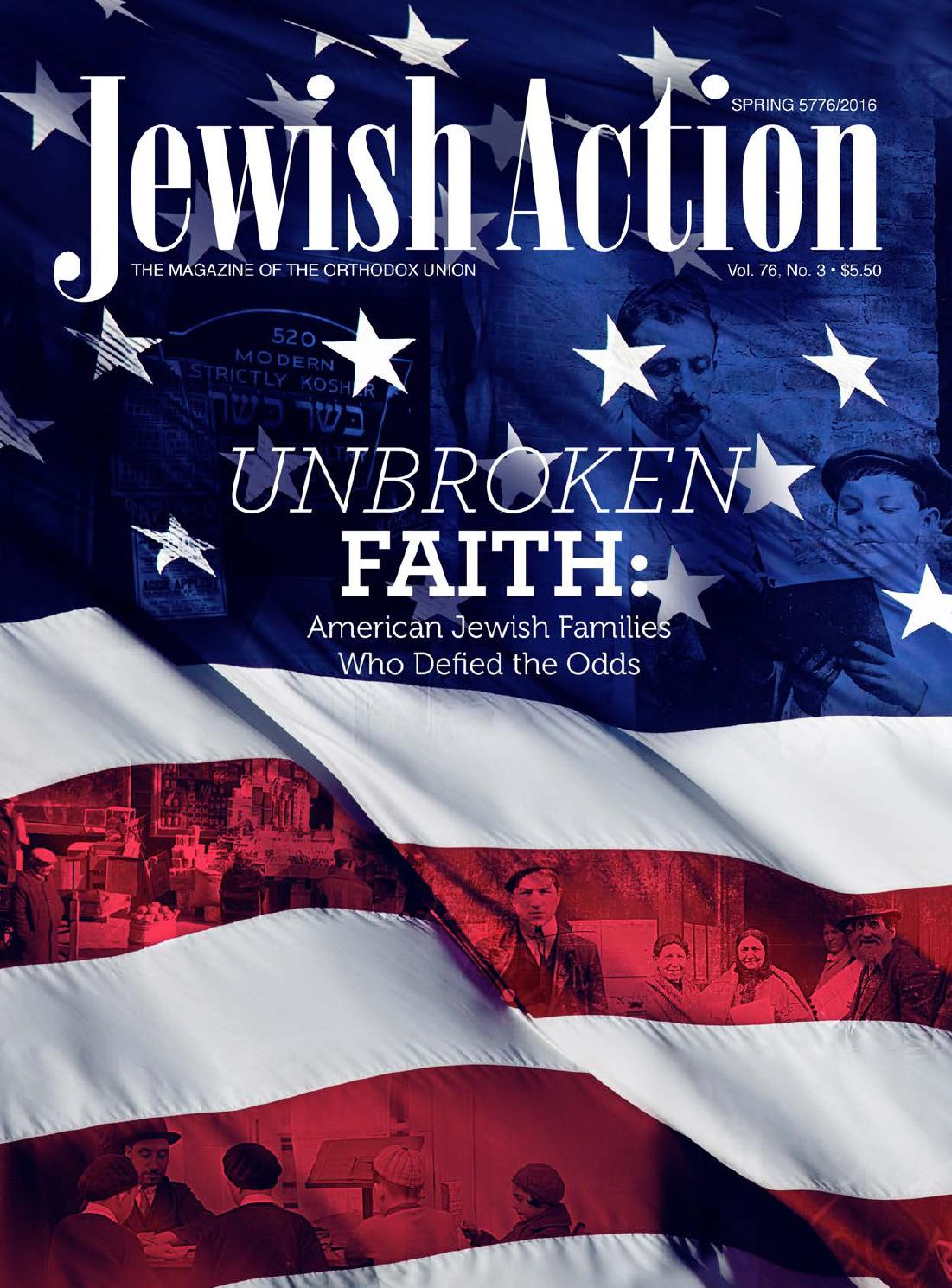 Jewish Action Spring 2016 by Orthodox Union - issuu