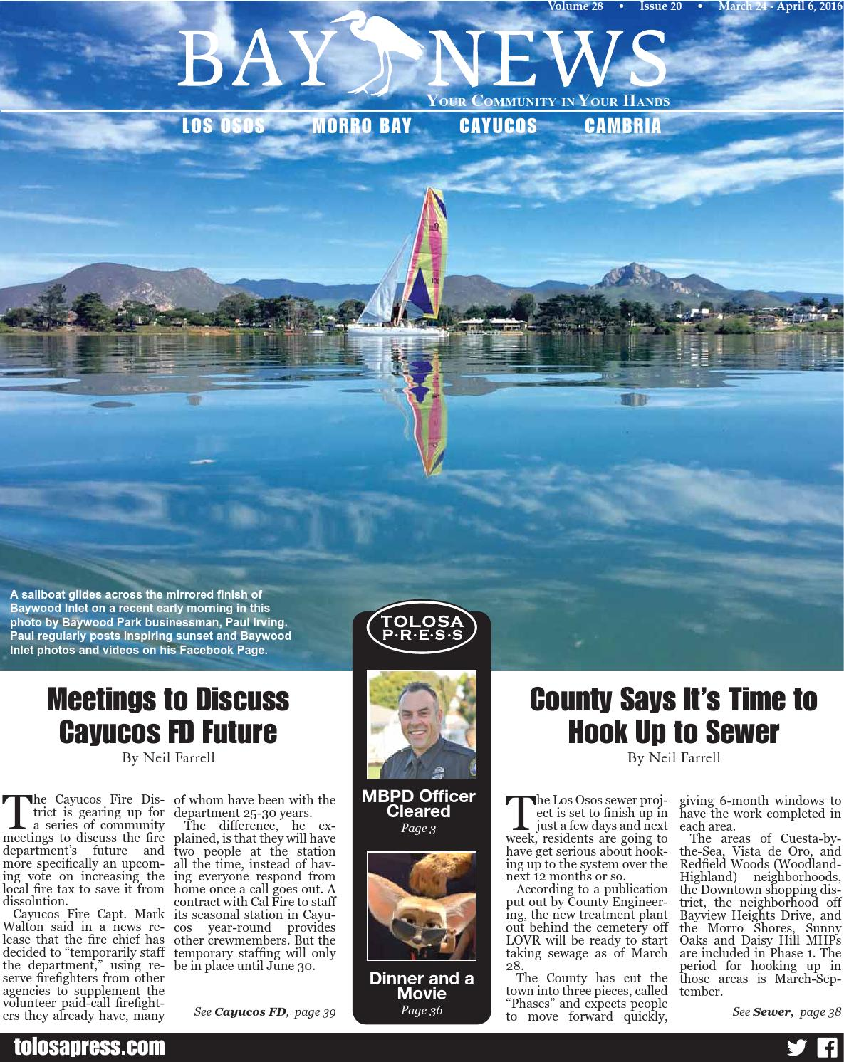 Bay News, March 24 - April 6, 2016 by Simply Clear Marketing, Inc ...