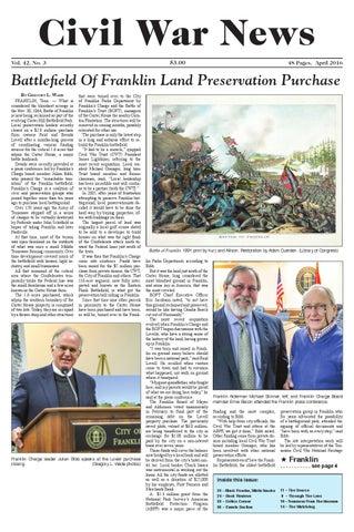 Civil war news april 2016 by artilleryman magazine issuu civil war news 300 fandeluxe Images