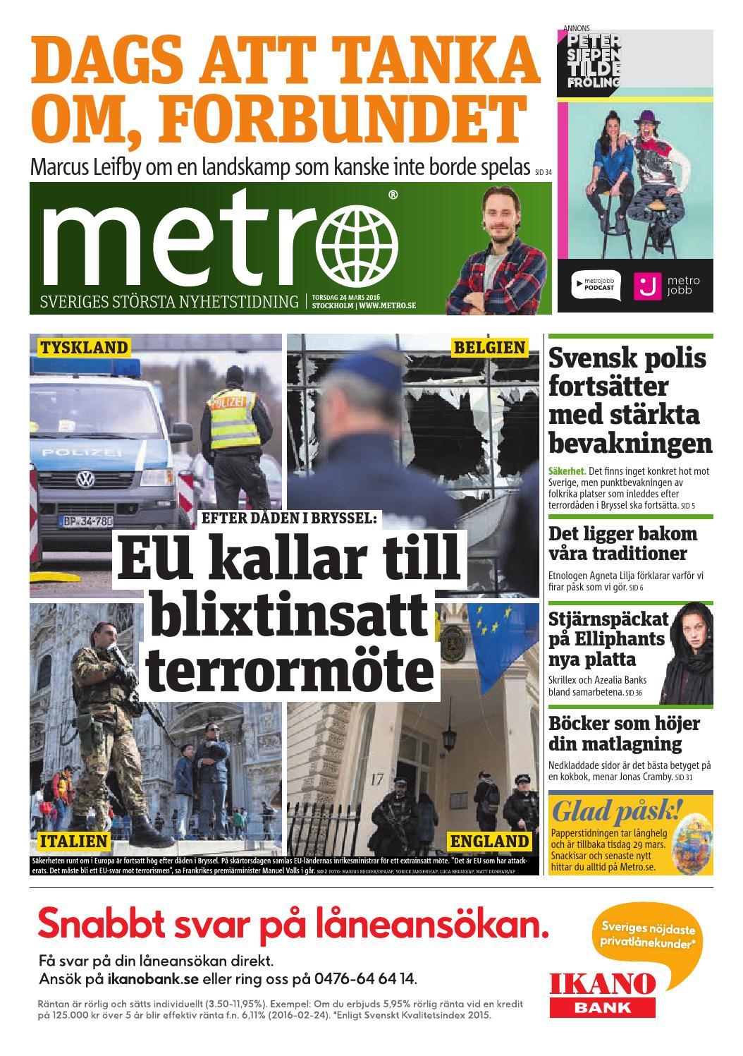 20160324 se stockholm by Metro Sweden - issuu 3cc633cab3f26