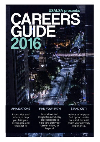 2016 USALSA Careers Guide by USALSA Publications - issuu