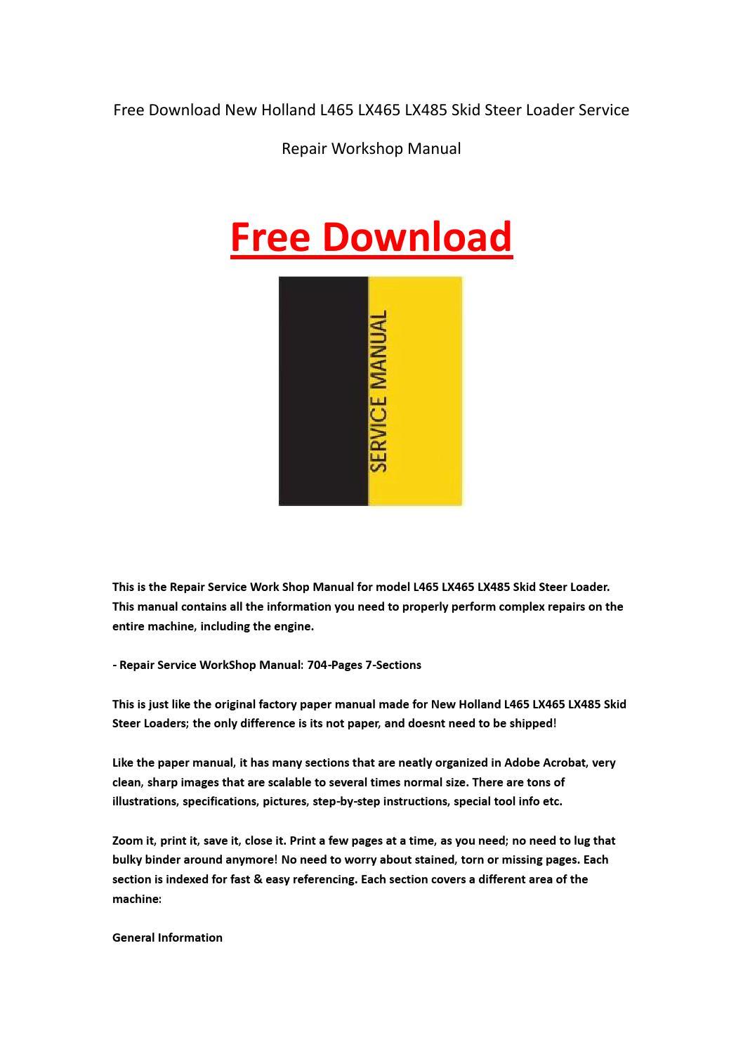 new holland 452 disc mower manual
