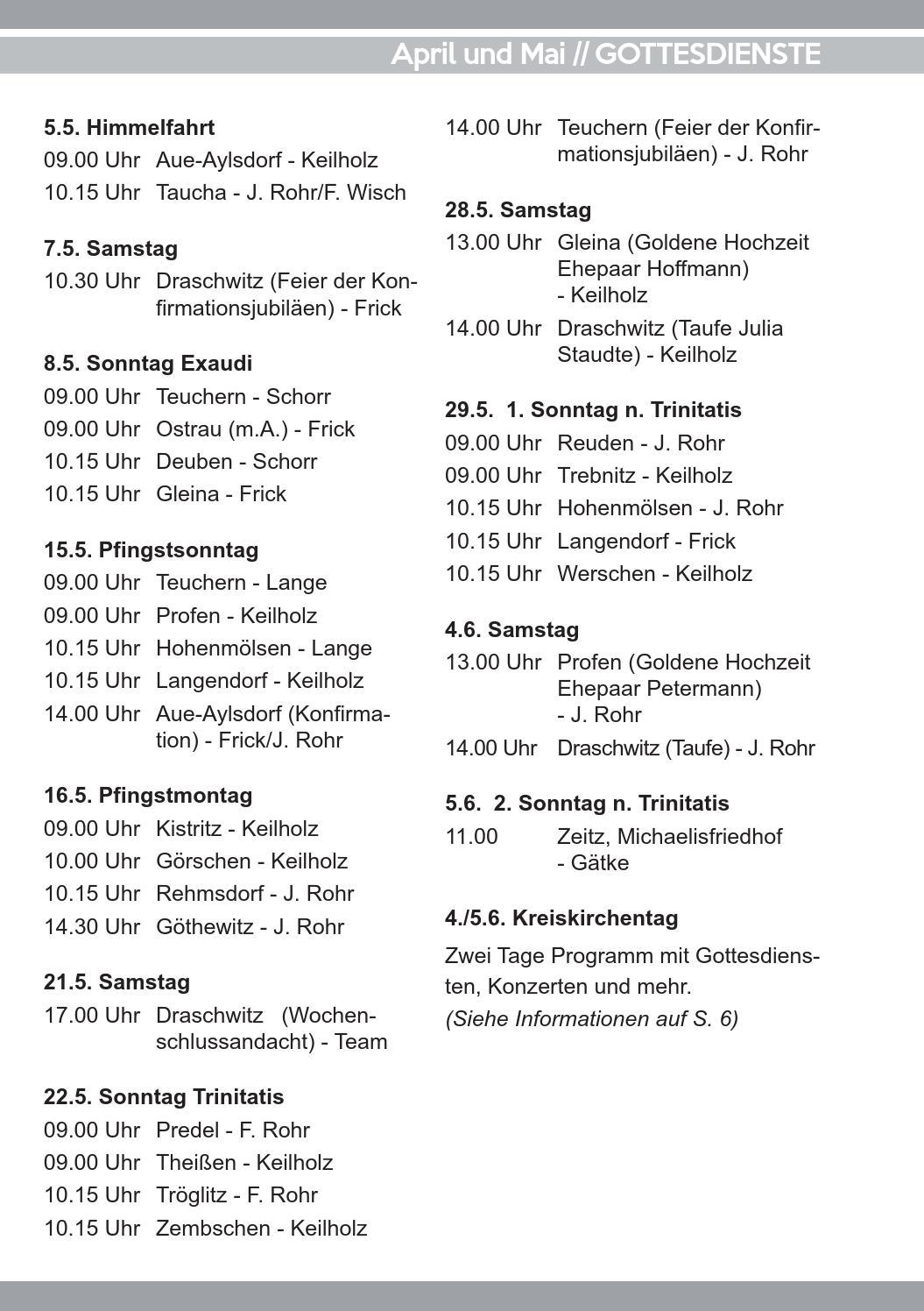 Gemeindebrief Nözzlicht 2 2016 April März By Evangelische