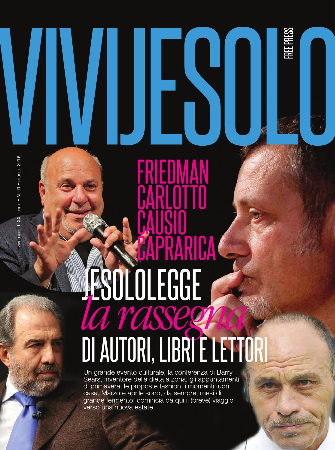 vivijesolo n 1 23 marzo 2016 by next italia issuu