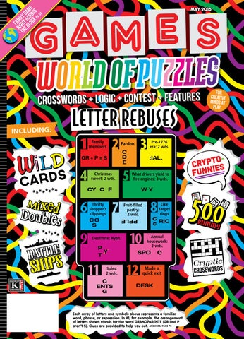 Games World Of Puzzles May 2016 By Robert By Jorel Gassant Issuu