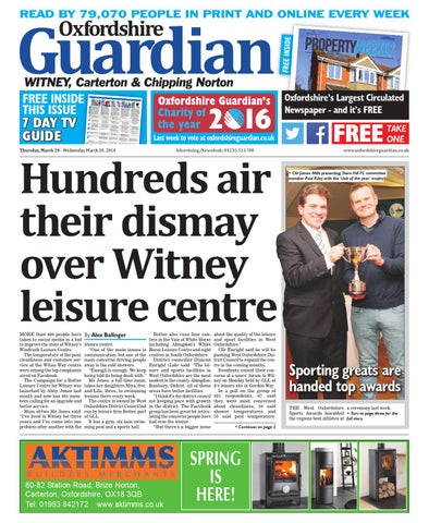 88595307a 24 march 2016 oxfordshire guardian witney by Taylor Newspapers - issuu