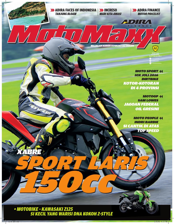 Motomaxx 03 2016 By Adira Member Issuu All New Beat Sporty Esp Cbs Iss Electro Blue White Kota Semarang