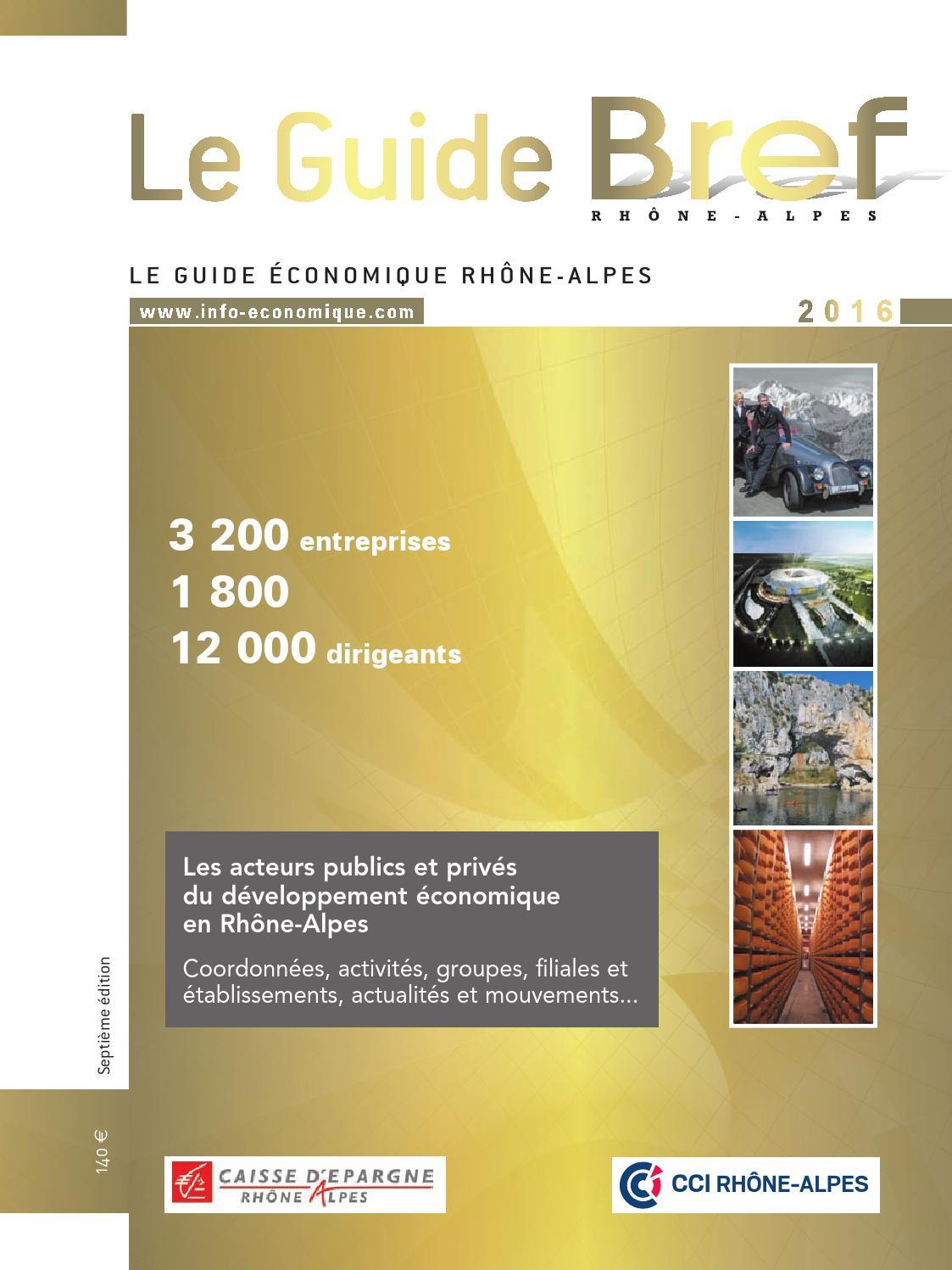Fabricant De Gabion Rhone Alpes guide economique bref rhone-alpes auvergne 2016 (extrait)
