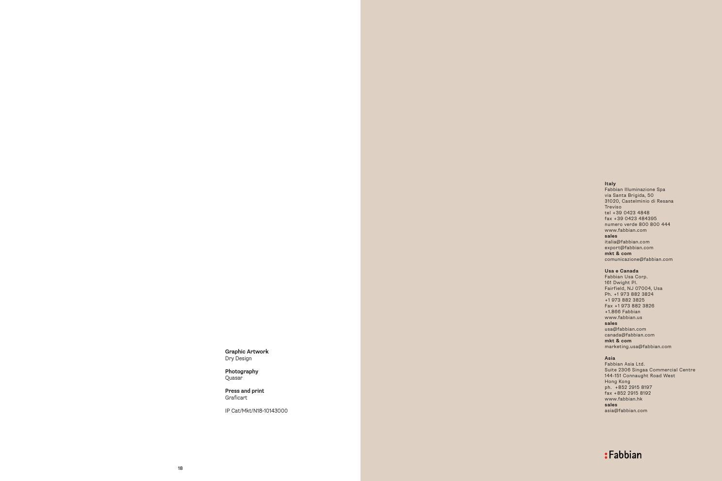 Fabbian multispot&tile led by FABRIKA SVETA - issuu