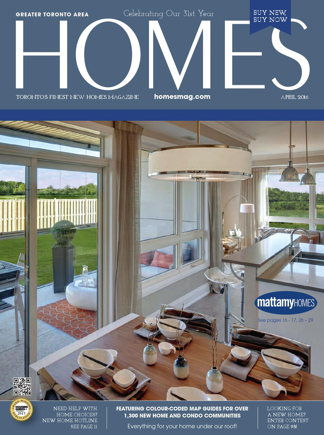 Homes magazine april 2016 by homes publishing group issuu for Home builders magazine