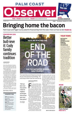 Palm Coast Observer Online 03-24-16 by Brian McMillan - issuu