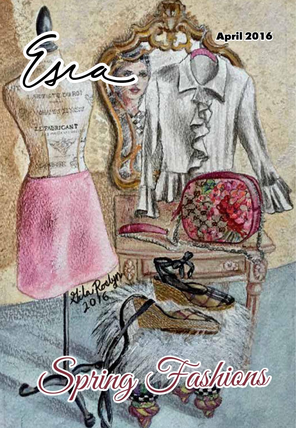 Esra April 2016 - Spring Fashions by Esra Magazine Online - issuu