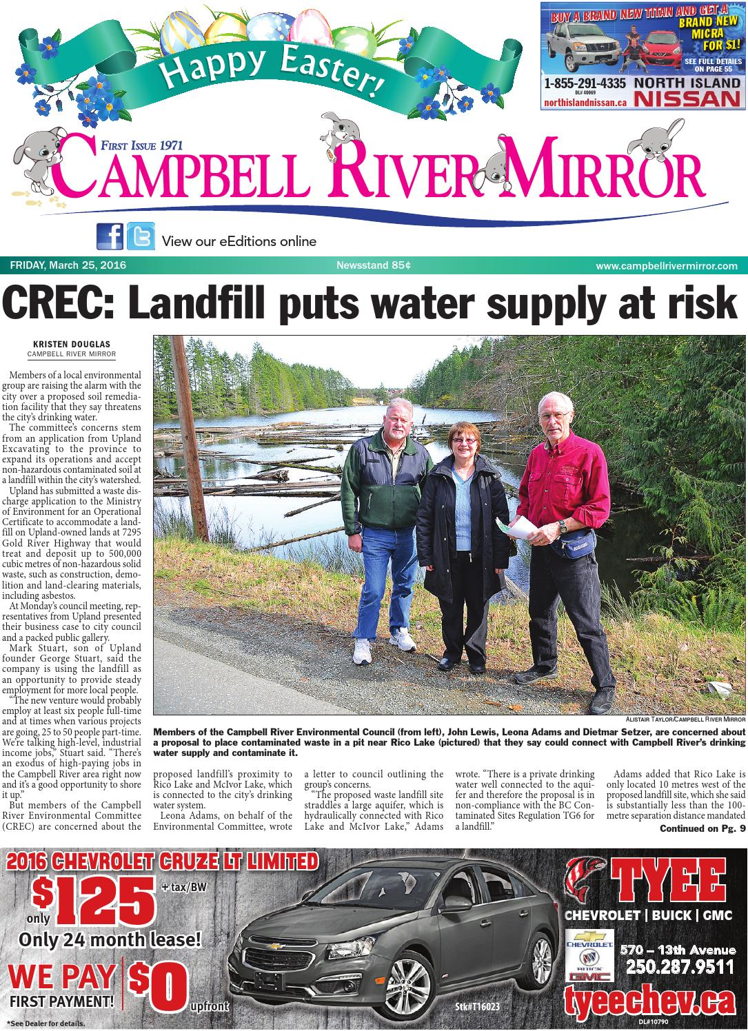 Nissan Campbell River >> Campbell River Mirror March 25 2016 By Black Press Media