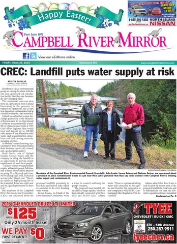 Campbell River Mirror March 25 2016 By Black Press Issuu