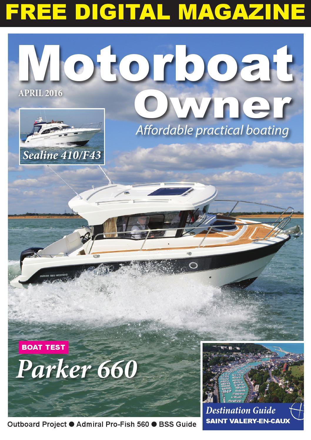 Motorboat Owner April 2016 By Digital Marine Media Ltd Issuu 2000 Yamaha T50 Outboard Wiring