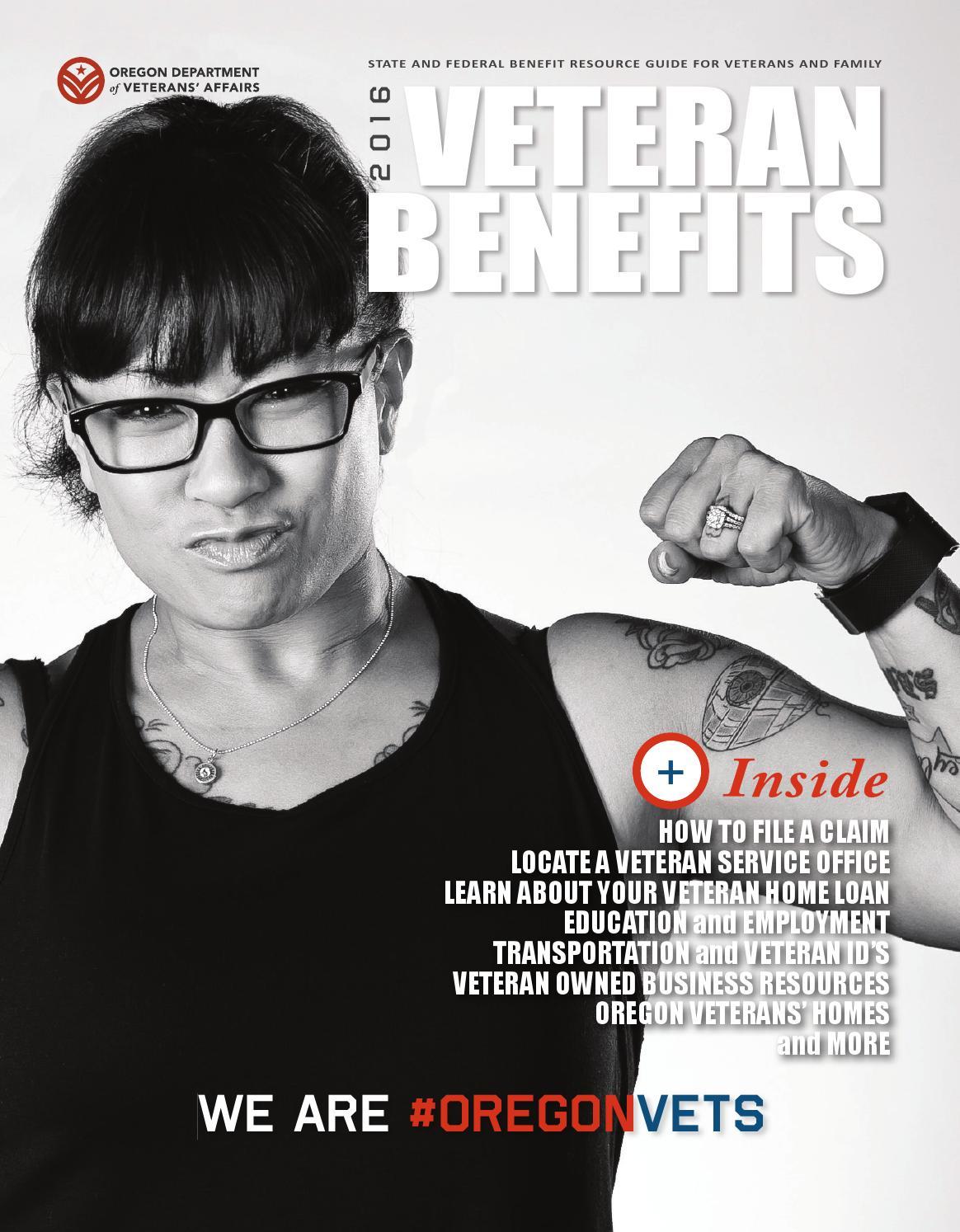 2016 Oregon Veteran Benefit Magazine By Oregon Department Of Veterans'  Affairs  Issuu