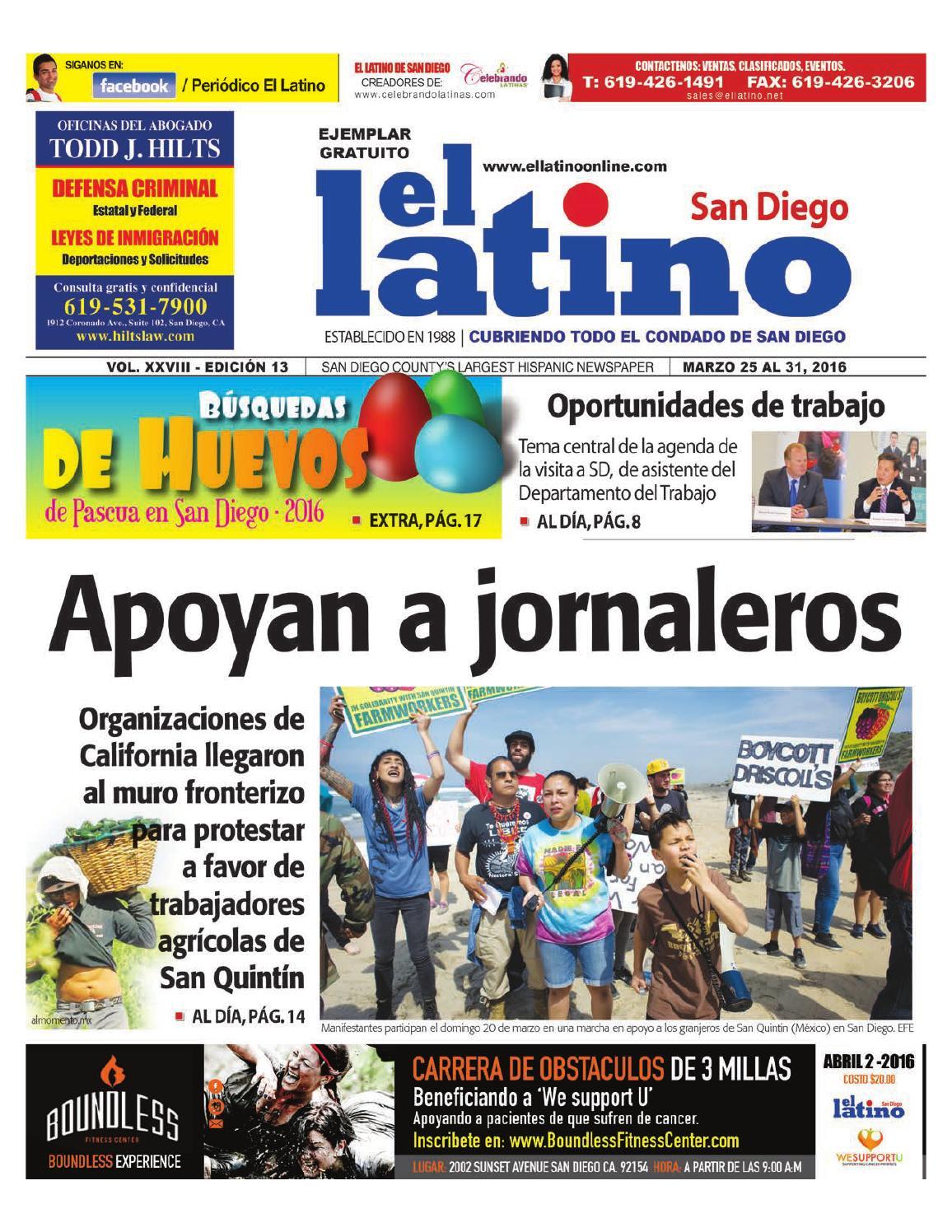 El Latino San Diego Newspaper by El Latino San Diego Newspaper - issuu