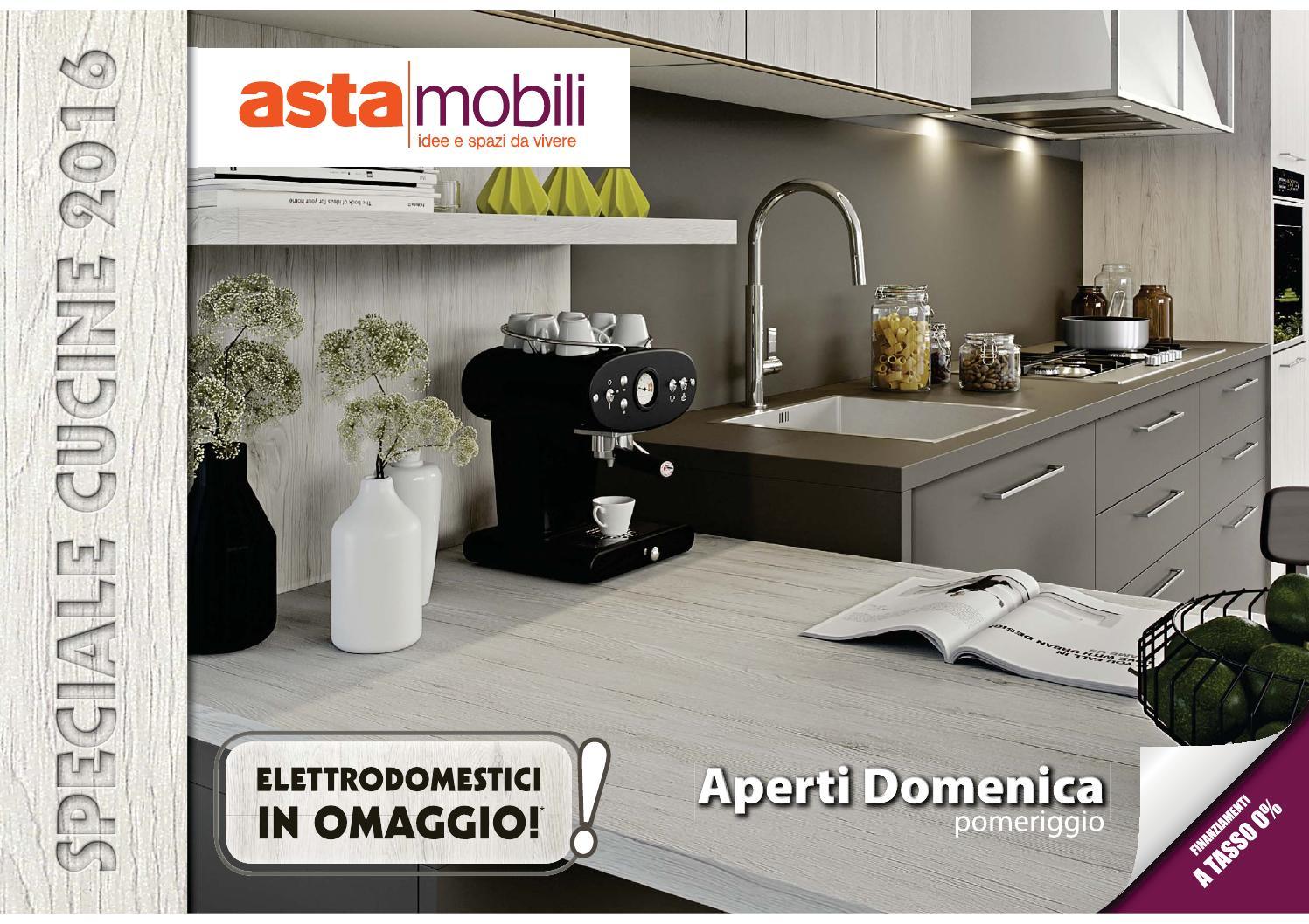Speciale cucine 2016 by asta mobili sicilia issuu - Asta mobili cucine economiche ...