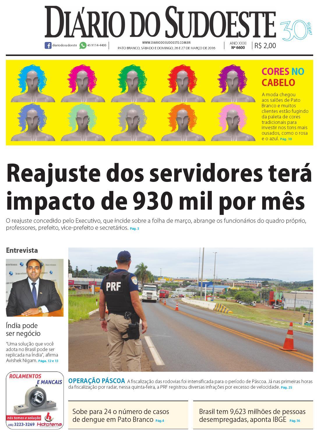 78a2f7929ca Diário do sudoeste 26 e 27 de março de 2016 ed 6600 by Diário do Sudoeste -  issuu
