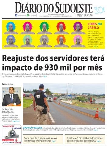 0f8a385be25 Diário do sudoeste 26 e 27 de março de 2016 ed 6600 by Diário do ...