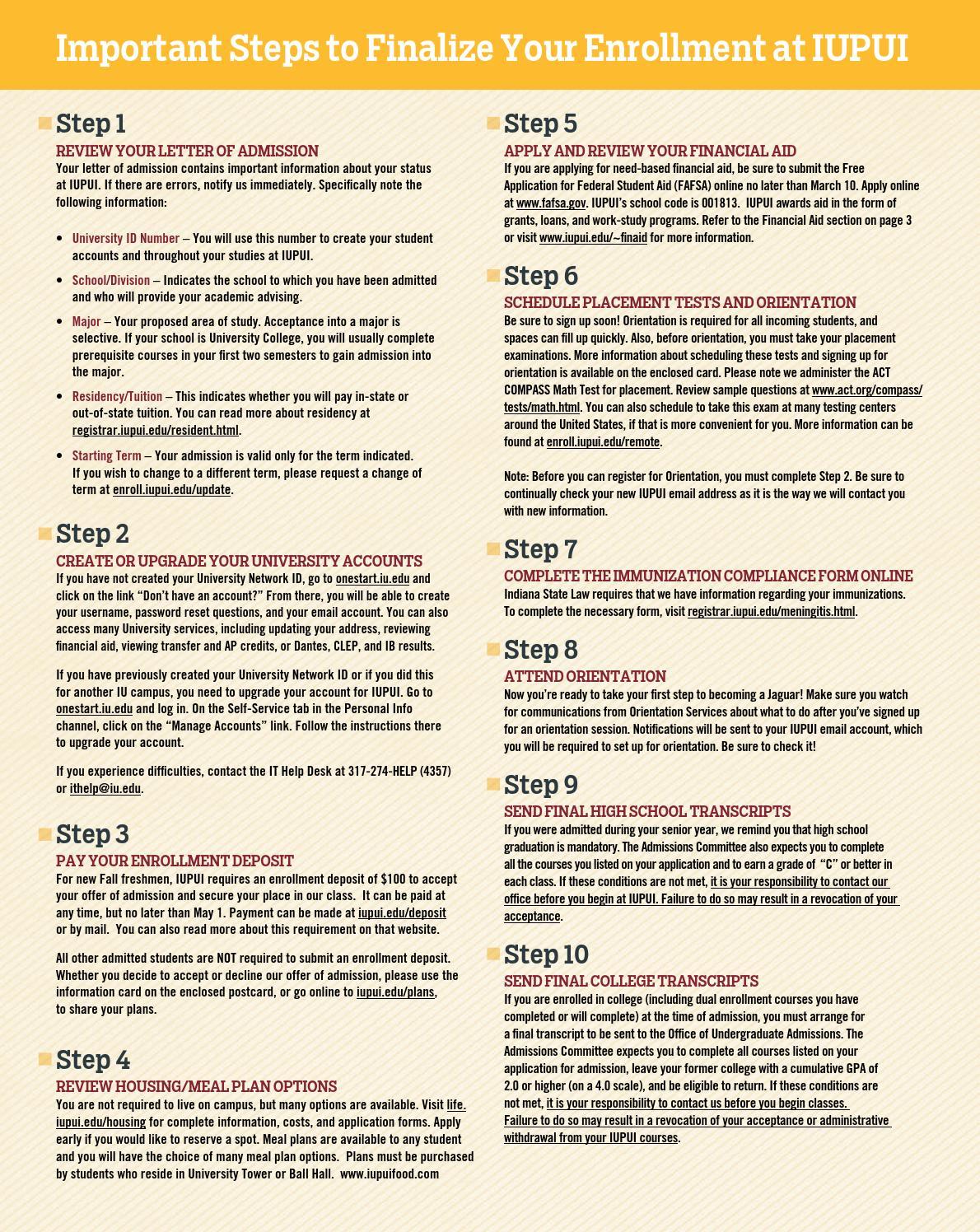 Iupui Financial Aid >> Iupui Enrollment Insert By Chuck Snider Design Issuu