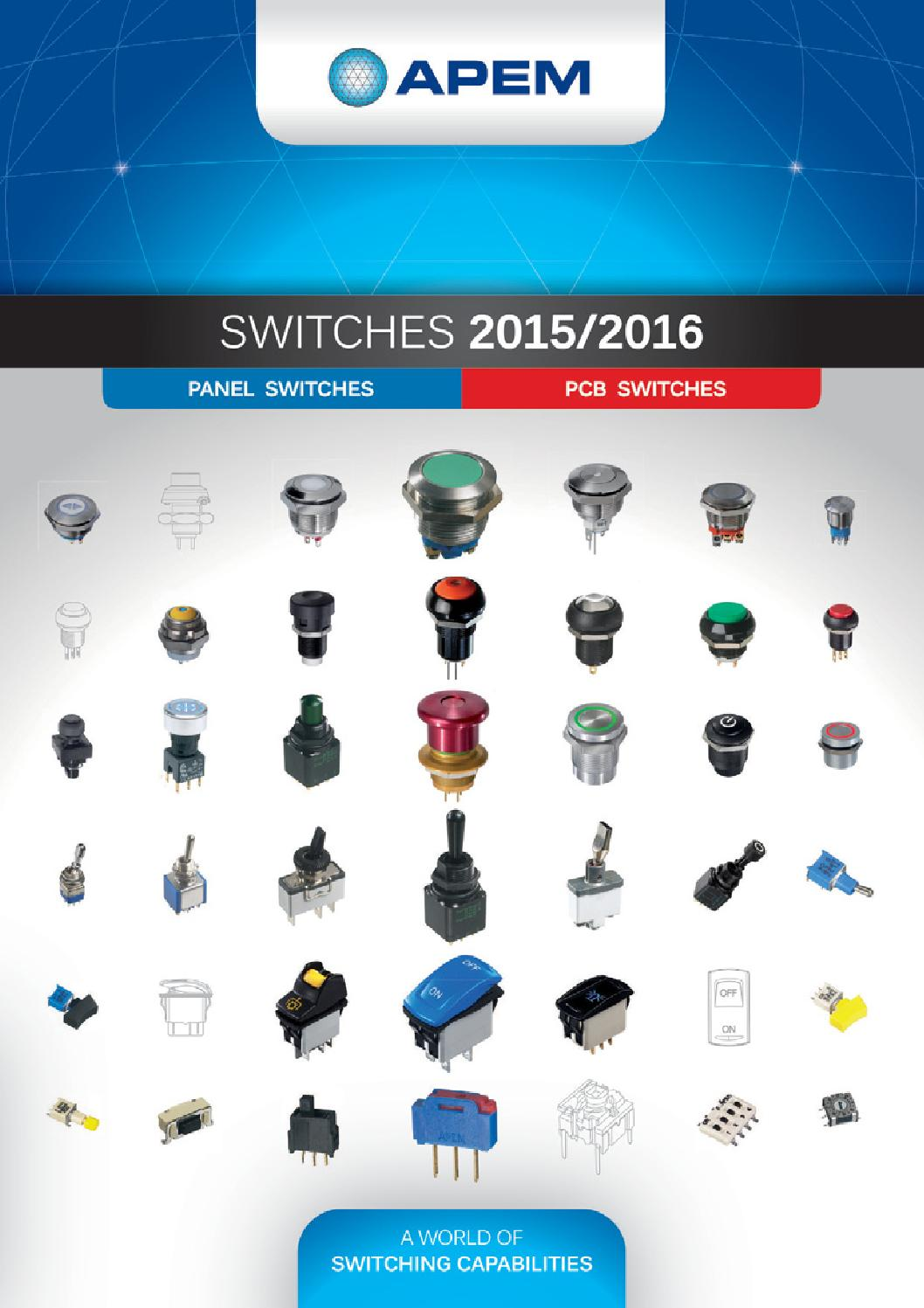 Switches 2015 2016 By Ivan Minin Issuu Vandal Switch Piezo Capacitive And Circuit Protection