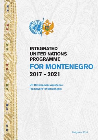 Integrated UN Programme 2017-2021