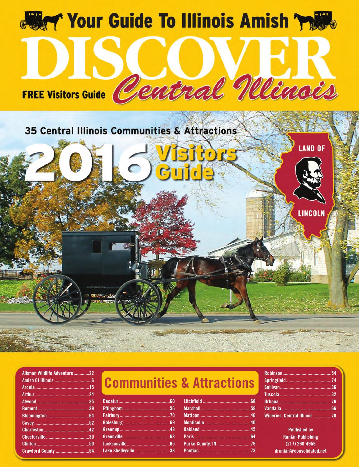 2016 Discover Central Illinois By Don Rankin   Issuu