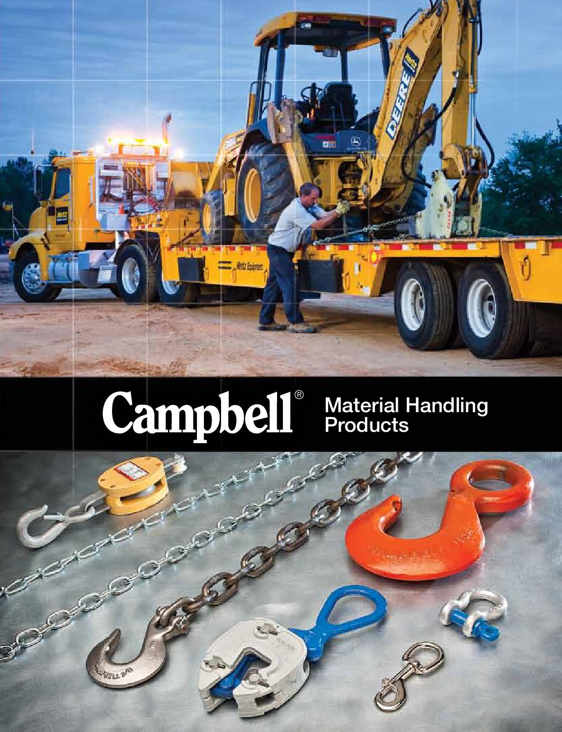 Campbell 6506210 Replacement Shackle//Linkage Kit for 1 ton GXL Clamp