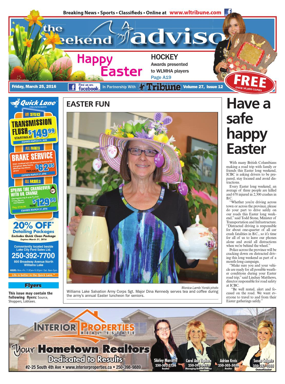 Williams Lake Tribune March 25 2016 By Black Press Issuu Honda Rebel 125 250 450 E2 80 A2 View Topic Wiring Diagrams