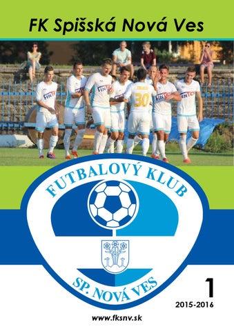 4c2125182f82e Číslo 1 – Marec 2015/2016 – FK Spišská Nová Ves