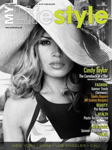 125dda0ed MY Lifestyle Magazine Edition 5 Cindy Taylor by Andres Bohorquez - issuu