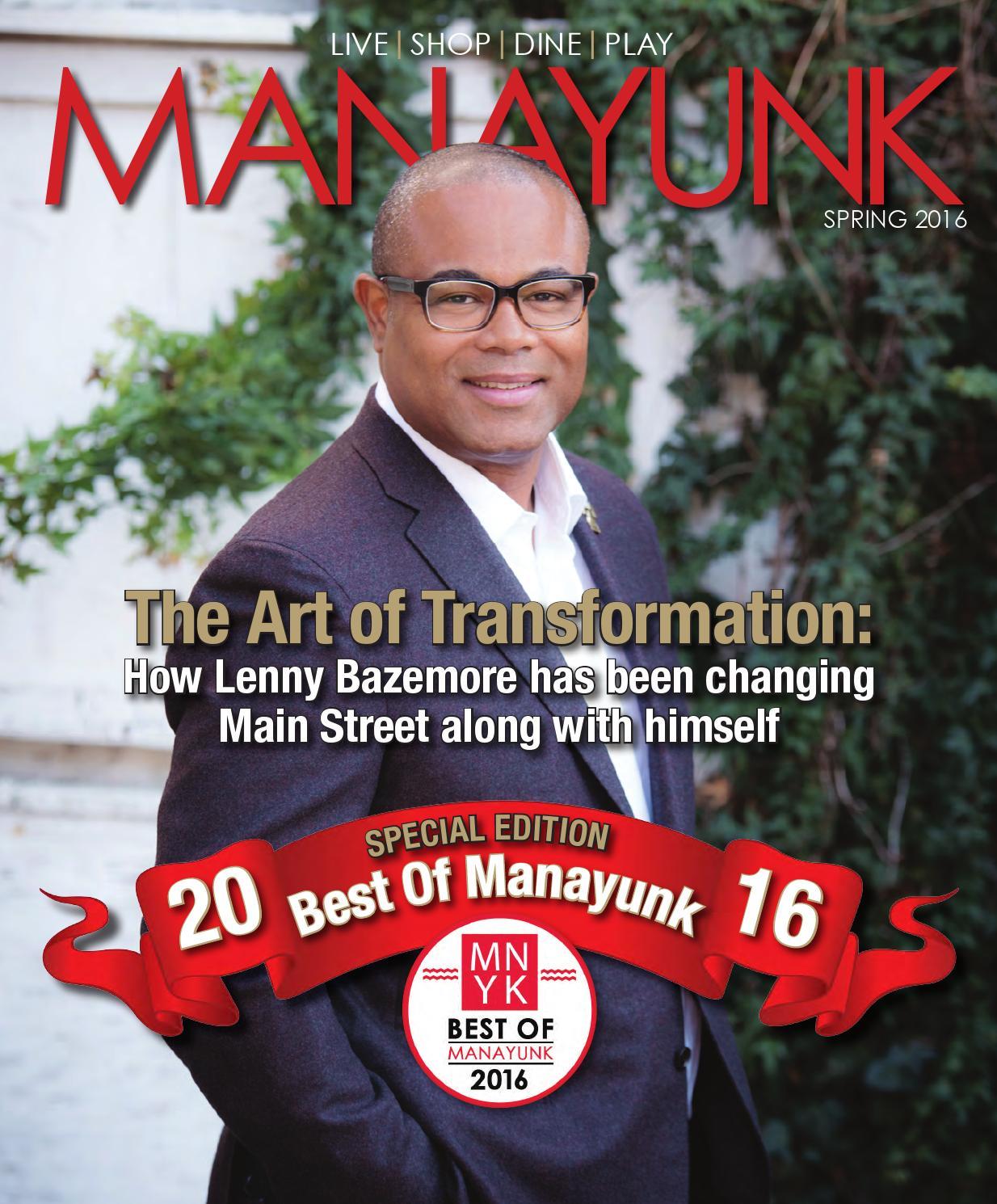 Manayunk Magazine Spring 2016 Issue By Manayunk Issuu