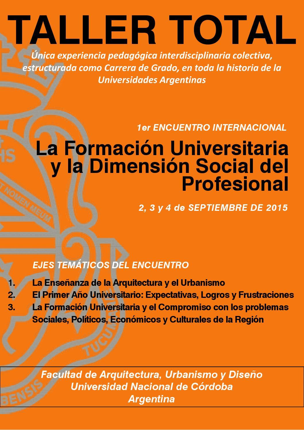 1er Encuentro - El Libro by Arquimedes Federico - issuu