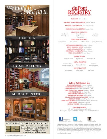 High Quality DuPontREGISTRY Tampa Bay March/April 2016 By DuPont REGISTRY   Issuu