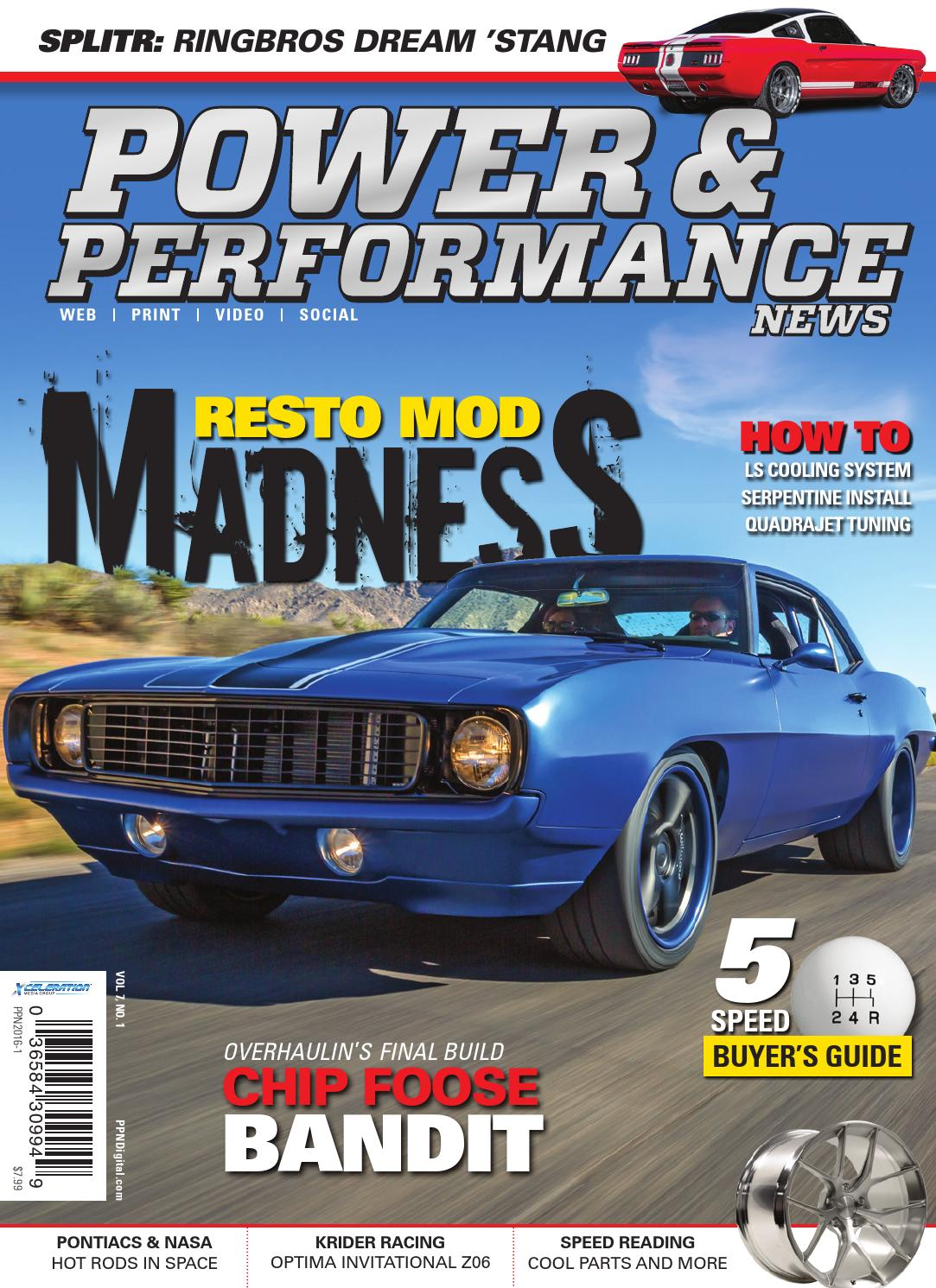 Power & Performance News Spring 2016 by Xceleration Media