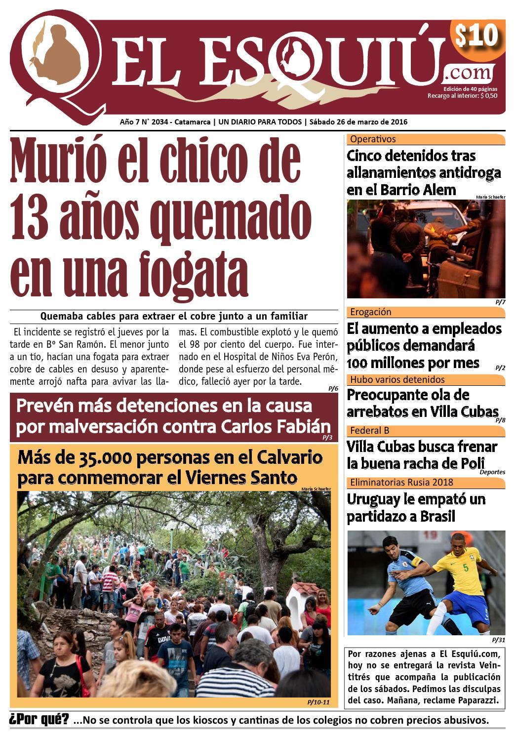 El Esquiu Com S Bado 26 De Marzo De 2016 By Editorial El Esqui  # Muebles Doblecinco