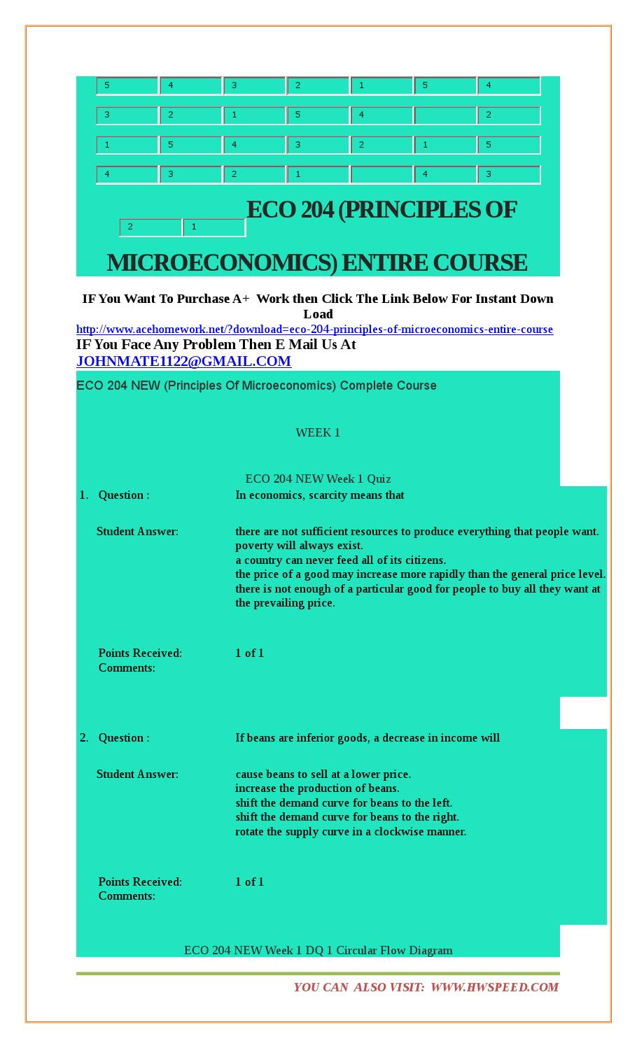 Eco 204 (principles of microeconomics) entire course by phosa.me - issuu
