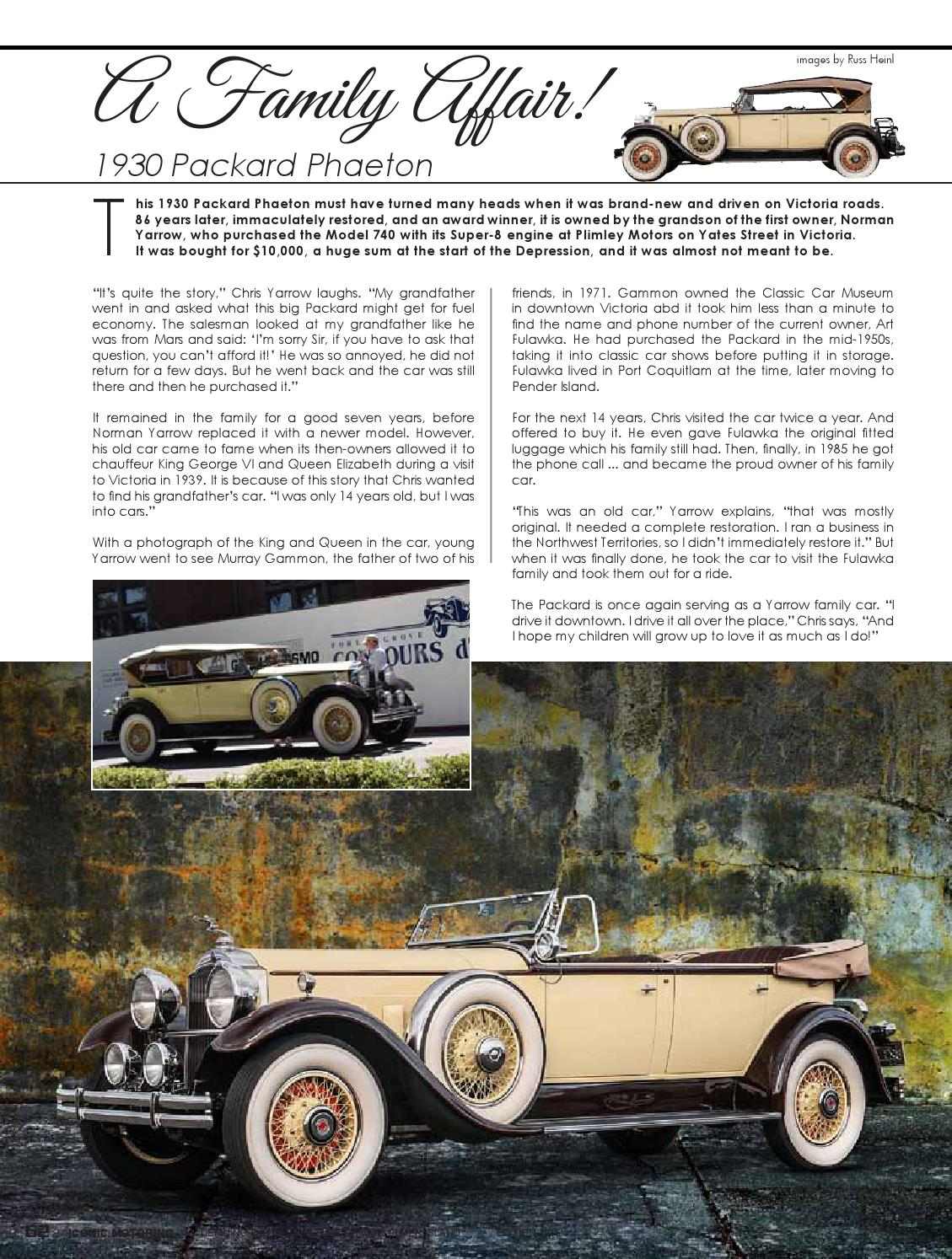 Iconic Motoring Victoria Vancouver Island By ICON Okanagan Issuu - Car restoration shows