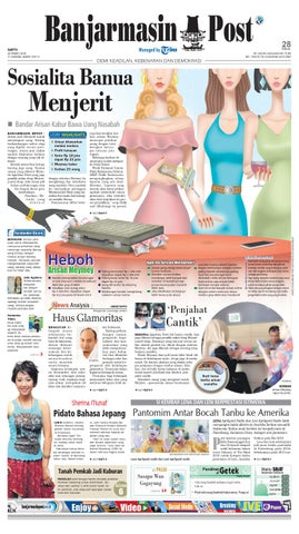 Banjarmasin Post Sabtu 26 Maret 2016 By Banjarmasin Post Issuu