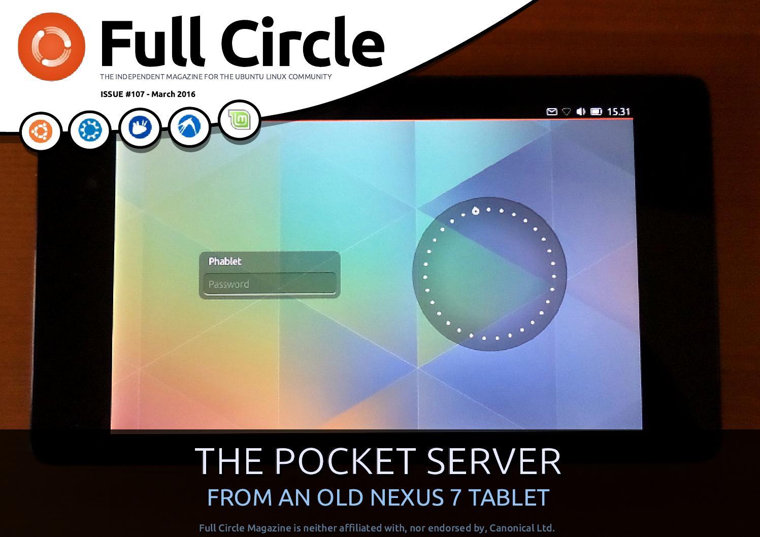 Full Circle Magazine #107 by Ronnie Tucker - issuu