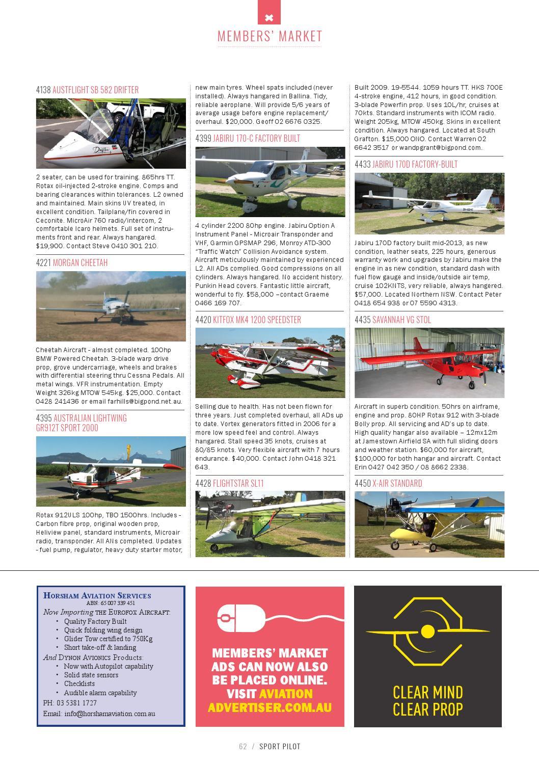 Sport Pilot 56 Apr 2016 by Recreational Aviation Australia