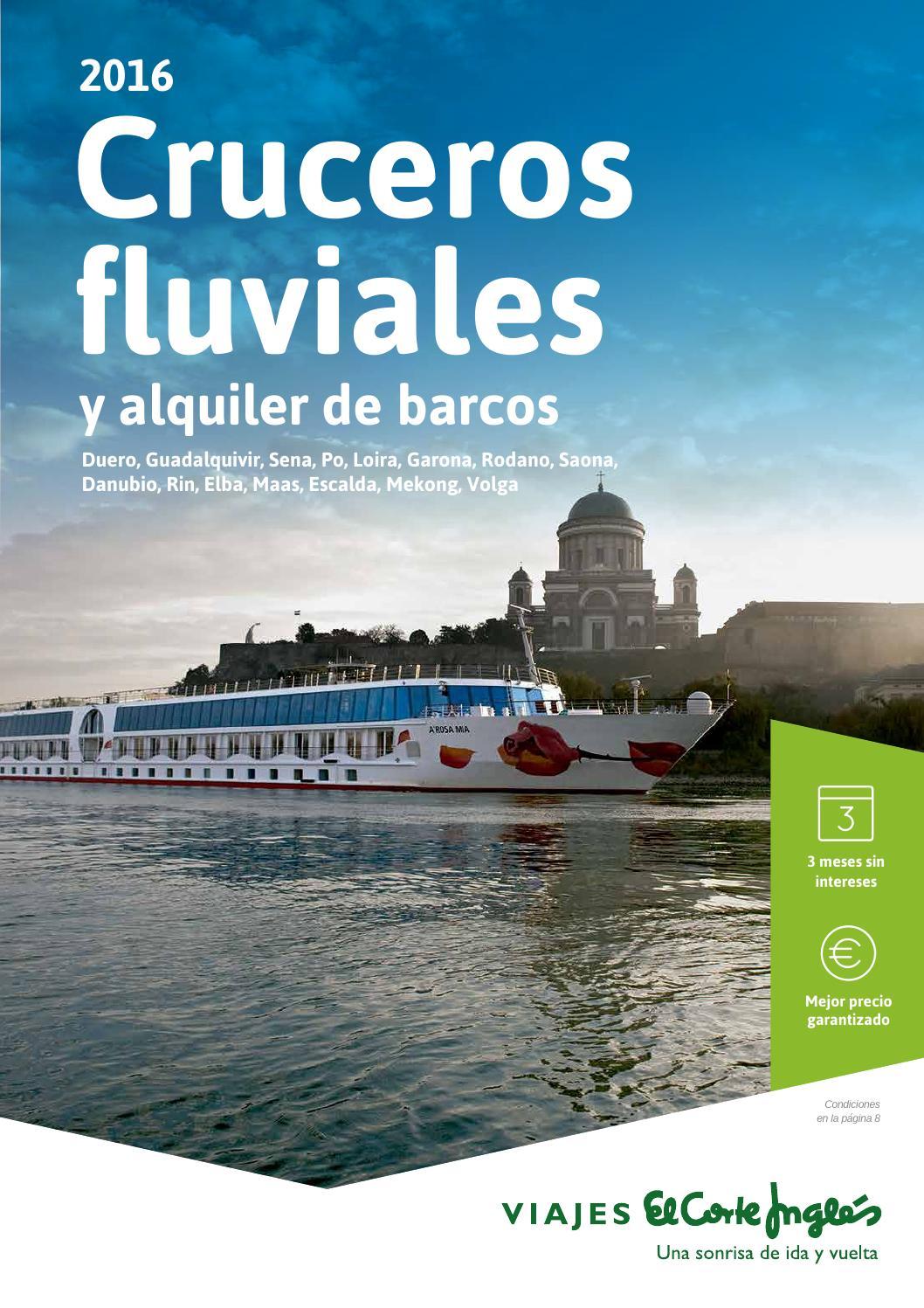 Viajes El Corte Ingl S Cruceros Fluviales Y Alquiler De Barcos  ~ El Corte Ingles Manta Electrica