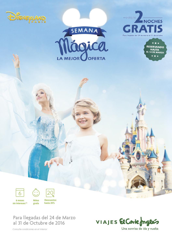precio competitivo zapatillas más fotos Viajes El Corte Inglés Disneyland Semana Mágica 2016 by ...