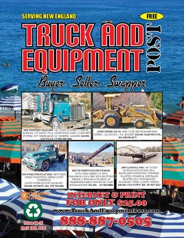 Truck Equipment Post 14 15 2016 By 1clickaway Issuu