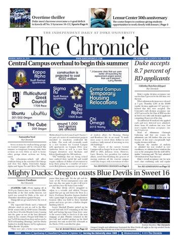 March 28, 2016 by Duke Chronicle - issuu