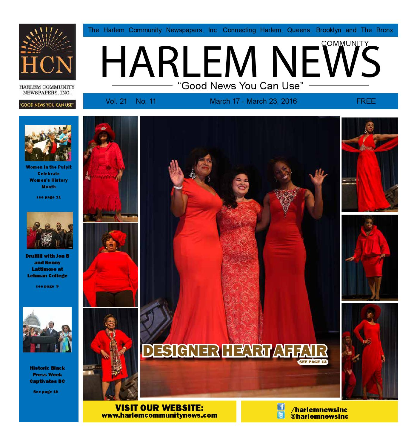 HARLEM COMMUNITY NEWSPAPERS | March 17, 2016 by Mike Kurov ...