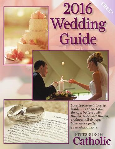 2016 Pittsburgh Catholic Wedding Guide By Pittsburgh Catholic