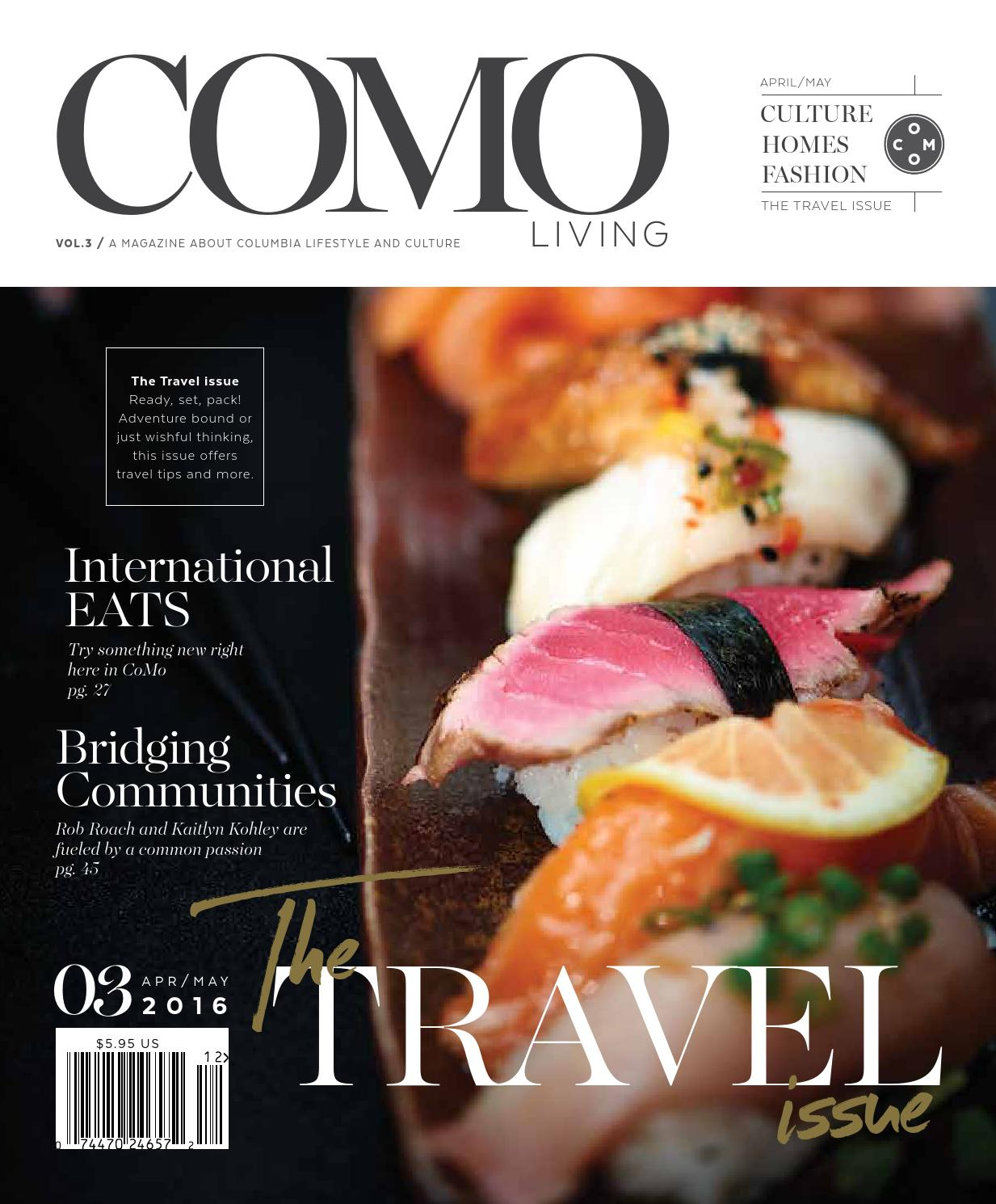 COMO Living Magazine - April/May 2016 by Business Times Company - issuu