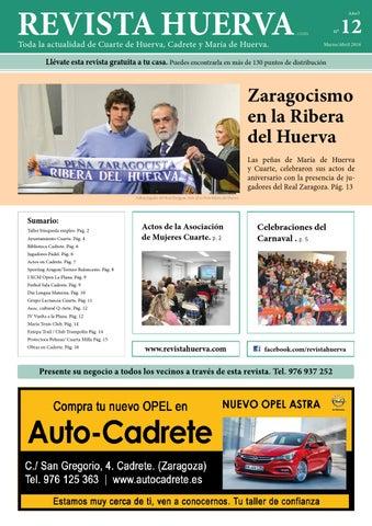 revistahuerva12 by Revista Huerva - issuu